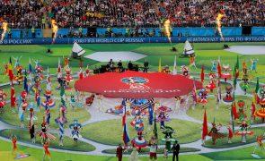 Mundial 2018: As imagens da cerimónia de abertura