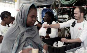 Quase metade dos migrantes do Aquarius deseja ir para França