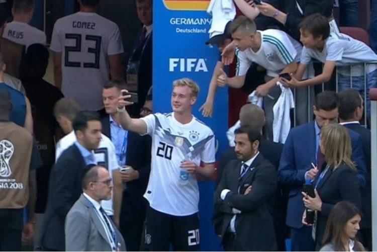 Mundial 2018: A selfie polémica após derrota da Alemanha na estreia [vídeo]