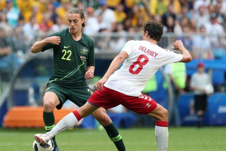Dinamarca e Austrália empatam na segunda jornada do grupo C