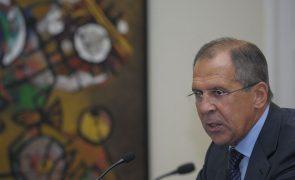 Lavrov reúne-se quarta-feira com assessor para a segurança de Trump