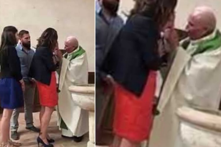 Padre que esbofeteou bebé durante o batismo defende-se [vídeo]
