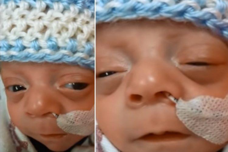 Mãe de prematuro recebe sorriso de força em momento de angústia [vídeo]