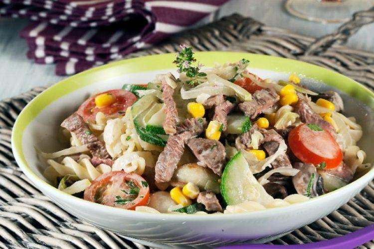 Salada de picanha super fácil de fazer