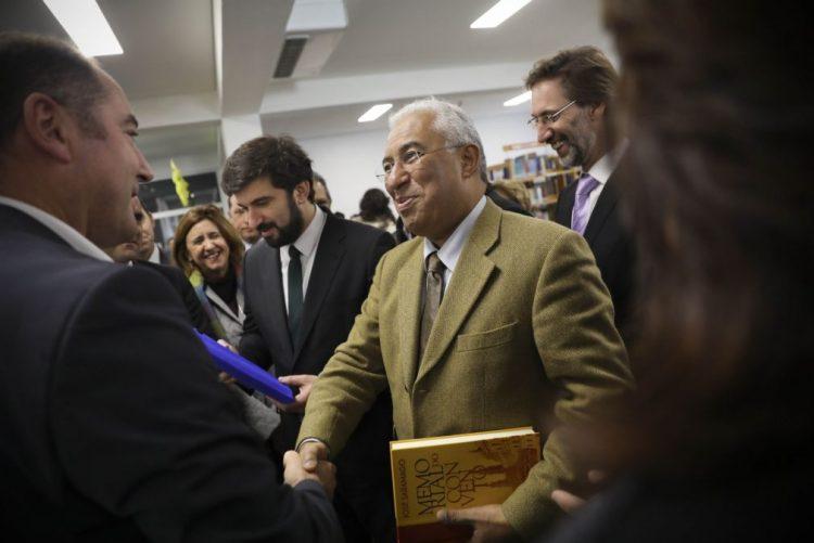 País com obras comparticipadas por fundos comunitários em 115 ME - António Costa