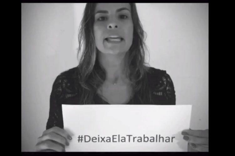 Jornalistas lançam campanha para por fim ao machismo no desporto, #DeixaElaTrabalhar