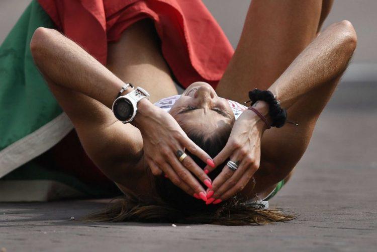Sara Moreira campeã nacional nos 5.000 metros, um dia depois dos 1.500 metros