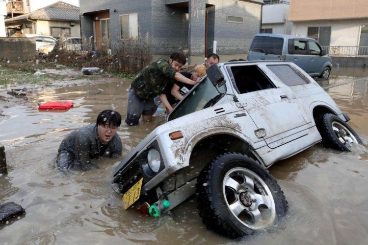 Pelo menos 87 mortos devido a chuvas torrenciais - Governo japonês