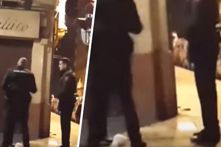 Mulher agredida violentamente por polícia em Espanha [vídeo]