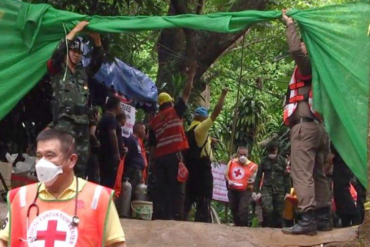 Autoridades da Talidância confirmam resgate de mais quatro rapazes hoje da gruta
