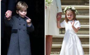 George e Charlotte com papel importante no casamento da princesa Eugenie