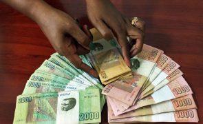 Angola retirou mais de 6% do dinheiro que tinha em circulação em junho