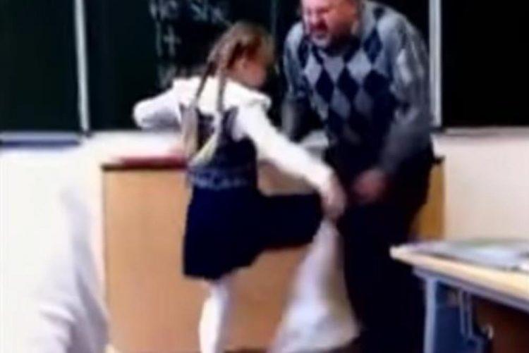 Professor primário humilha aluna e deixa criança em desespero [vídeo]