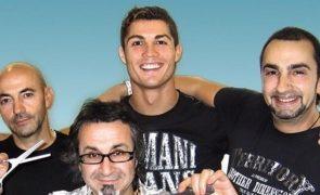 Cabeleireiro de Cristiano Ronaldo devastado com saída para a Juventus