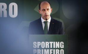 Carlos Vieira quer dar sequência ao projeto do Sporting e demarca-se de Bruno de Carvalho