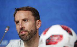 Southgate nega desânimo e quer fazer história no Mundial da Rússia