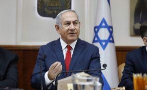 Primeiro-ministro israelita ameaça aumentar ataques contra Gaza,