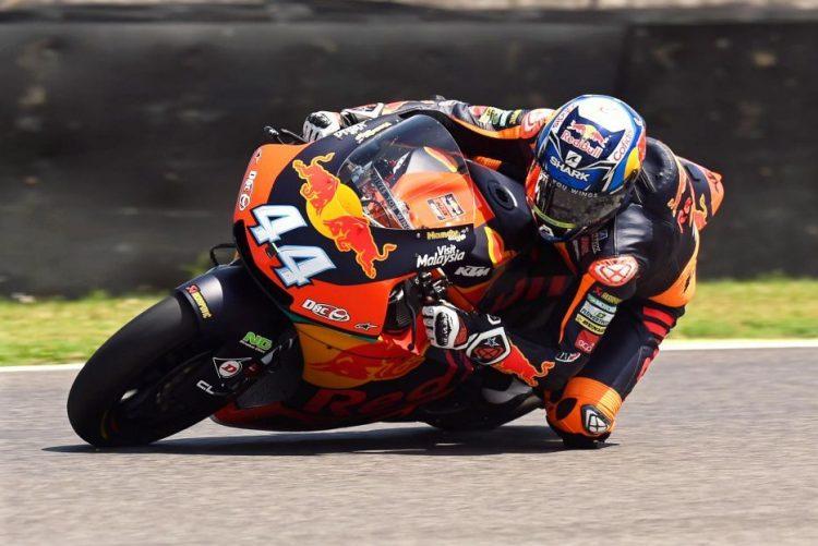 Miguel Oliveira foi quarto no GP Alemanha e aproximou-se da liderança em Moto2