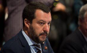Salvini quer fim das sanções da UE contra a Rússia