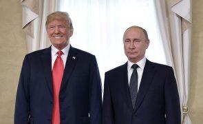 Cimeira Trump-Putin teve