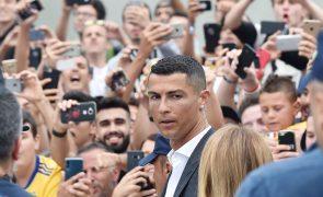 Cristiano Ronaldo e a «decisão fácil» de mudar com a família para Itália