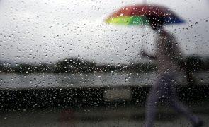 Içado sinal 1 de tempestade tropical em Macau