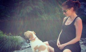 Rita Redshoes está grávida pela primeira vez