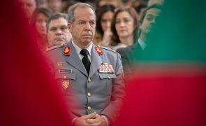Tancos: CDS-PP requer audição do general Rovisco Duarte e lista do material recuperado
