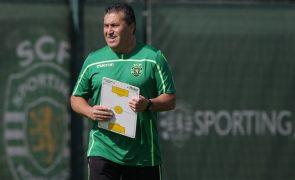 Sporting: José Peseiro pede aos adeptos tenham «paciência» com jogadores