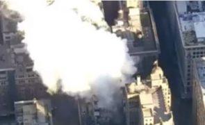 Nova Iorque: Explosão no centro da cidade lança o caos [vídeo em direto]
