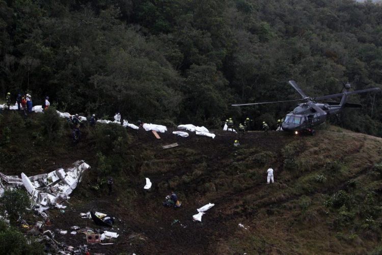 Acidente/Colômbia: Piloto reportou