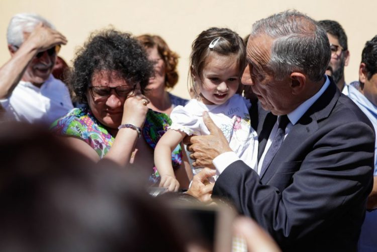 Marcelo alerta que portugueses não podem ficar com dúvidas sobre solidariedade com Pedrógão Grande