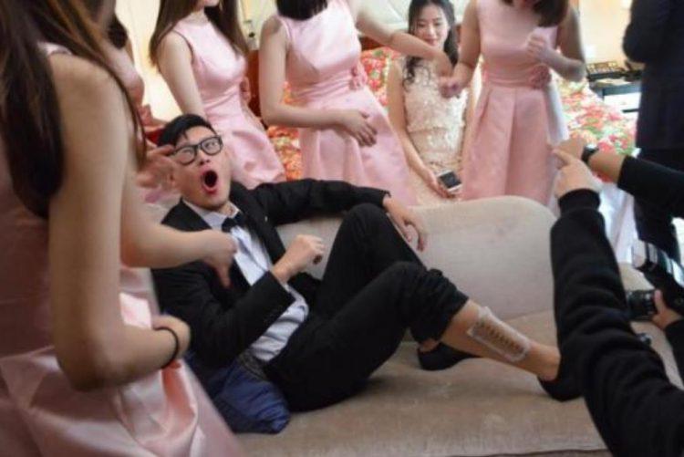 Brincadeira em casamento acaba em tragédia [vídeo]