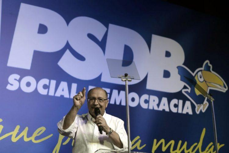 Geraldo Alckmin aposta em reformar o Brasil na apresentação da sua candidatura à Presidência