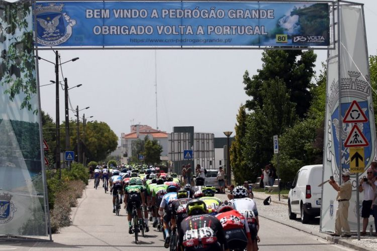 ADoP faz operação no final da terceira etapa a Volta a Portugal