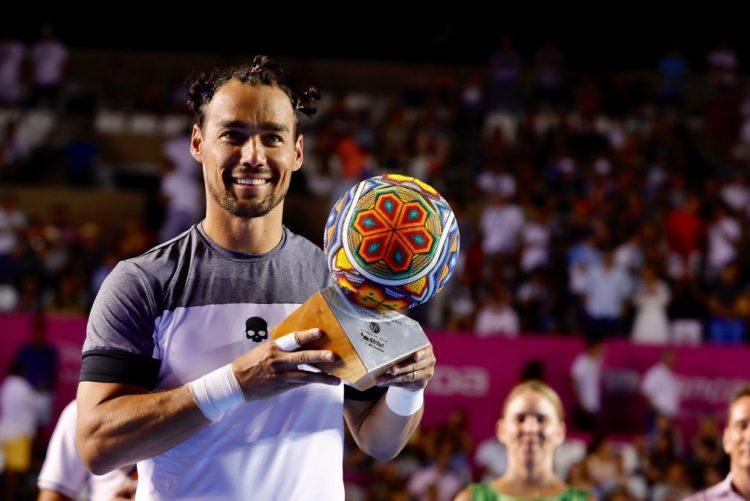 Fognini bate Del Potro e vence torneio de ténis de Los Cabos
