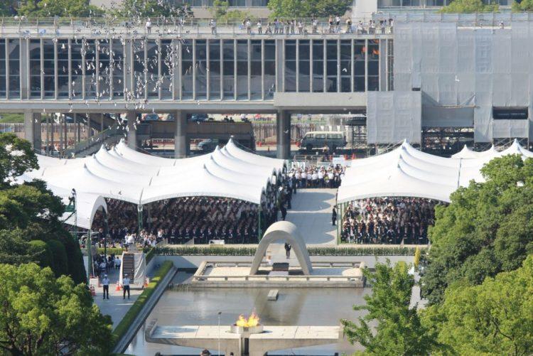 Japão volta a pedir fim das armas nucleares no 73.º aniversário de Hiroshima