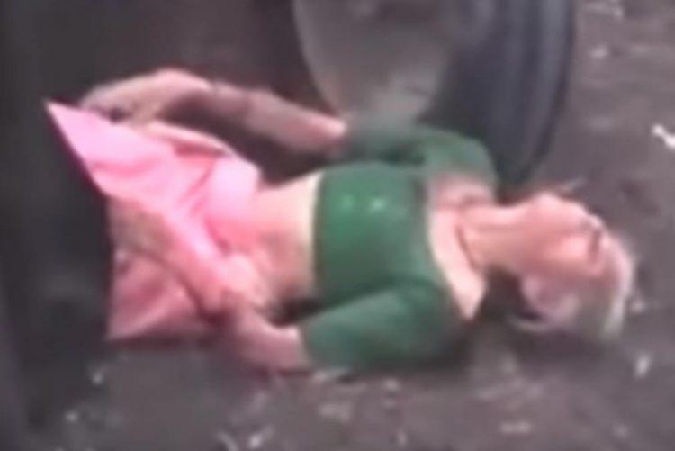 Filhos maltratam de forma cruel mãe idosa [vídeo]