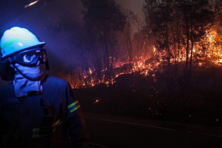 ALERTA INCÊNDIOS: Atualizações sobre o incêndio de Monchique