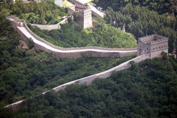 Chineses revoltados com concurso para dormir na Grande Muralha