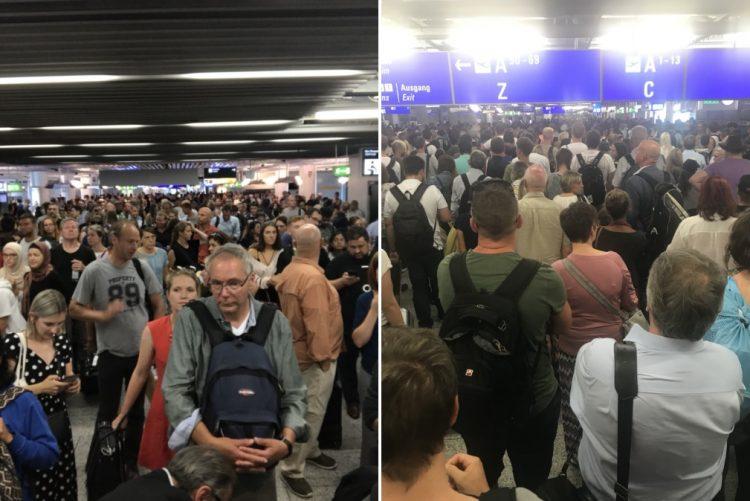 ÚLTIMA HORA: Aeroporto de Frankfurt está a ser evacuado