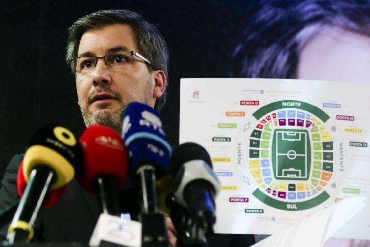 Bruno de Carvalho é o quarto candidato ao Sporting a formalizar entrega de listas