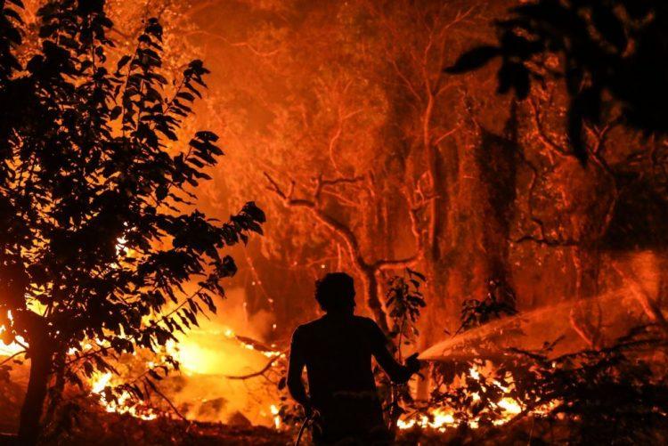 Incêndio de Monchique foi visto do espaço [foto]