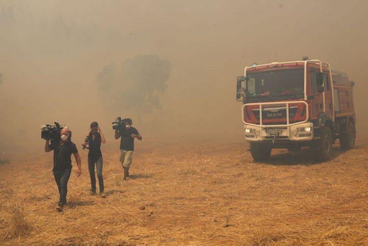 ALERTA INCÊNDIOS: Fogo controlado em Portimão, mas há receio de reacendimentos