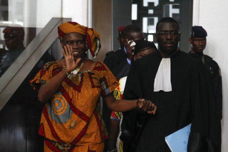 Simone Gbagbo, ex-primeira-dama da Costa do Marfim, libertada hoje