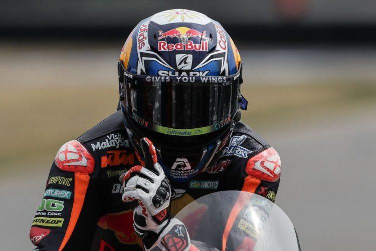 Miguel Oliveira quer repetir o pódio de Moto2 na Áustria