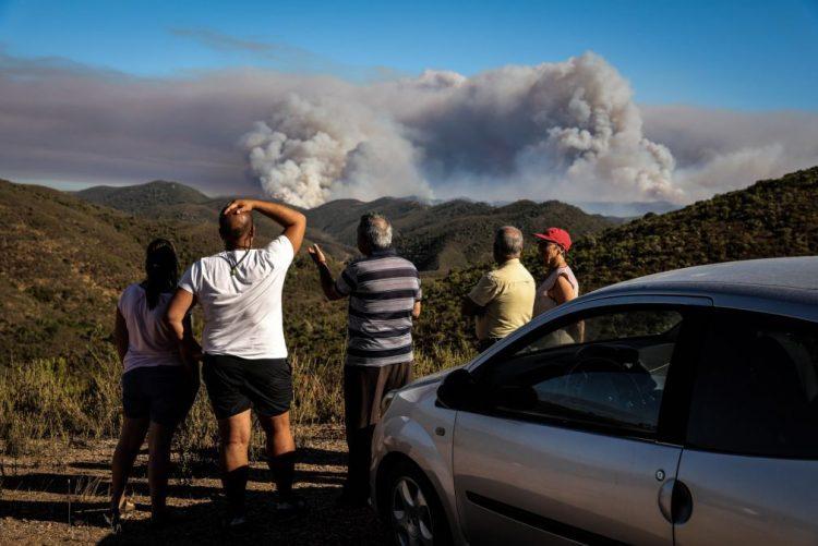 787 fogos rurais entre 28 de julho e terça-feira, menos 500 ignições do que em 2017
