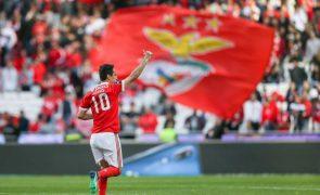 Futebol: Benfica com duas baixas confirmadas para o arranque do campeonato