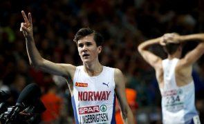 Norueguês de 17 anos conquista novo título em Berlim nos Europeus de Atletismo