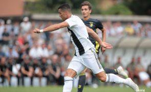 Está aqui o primeiro golo de Cristiano Ronaldo na Juventus